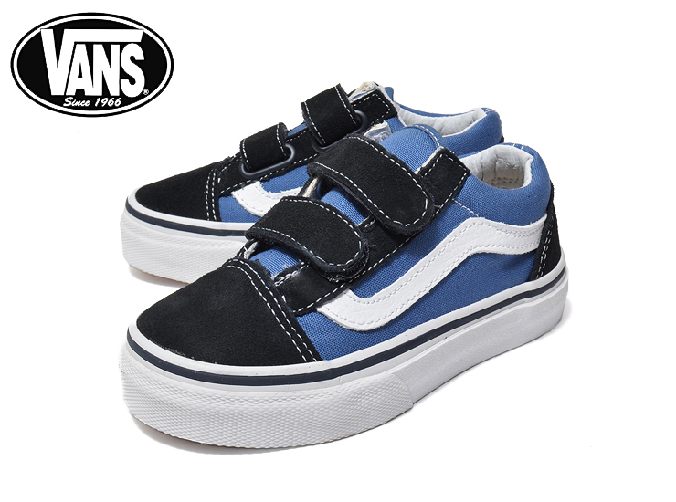 Constant seller of the sneakers popularity for the VANS KIDS vans kids KIDS OLD SKOOL V NavyTrue White vans kids old school V child