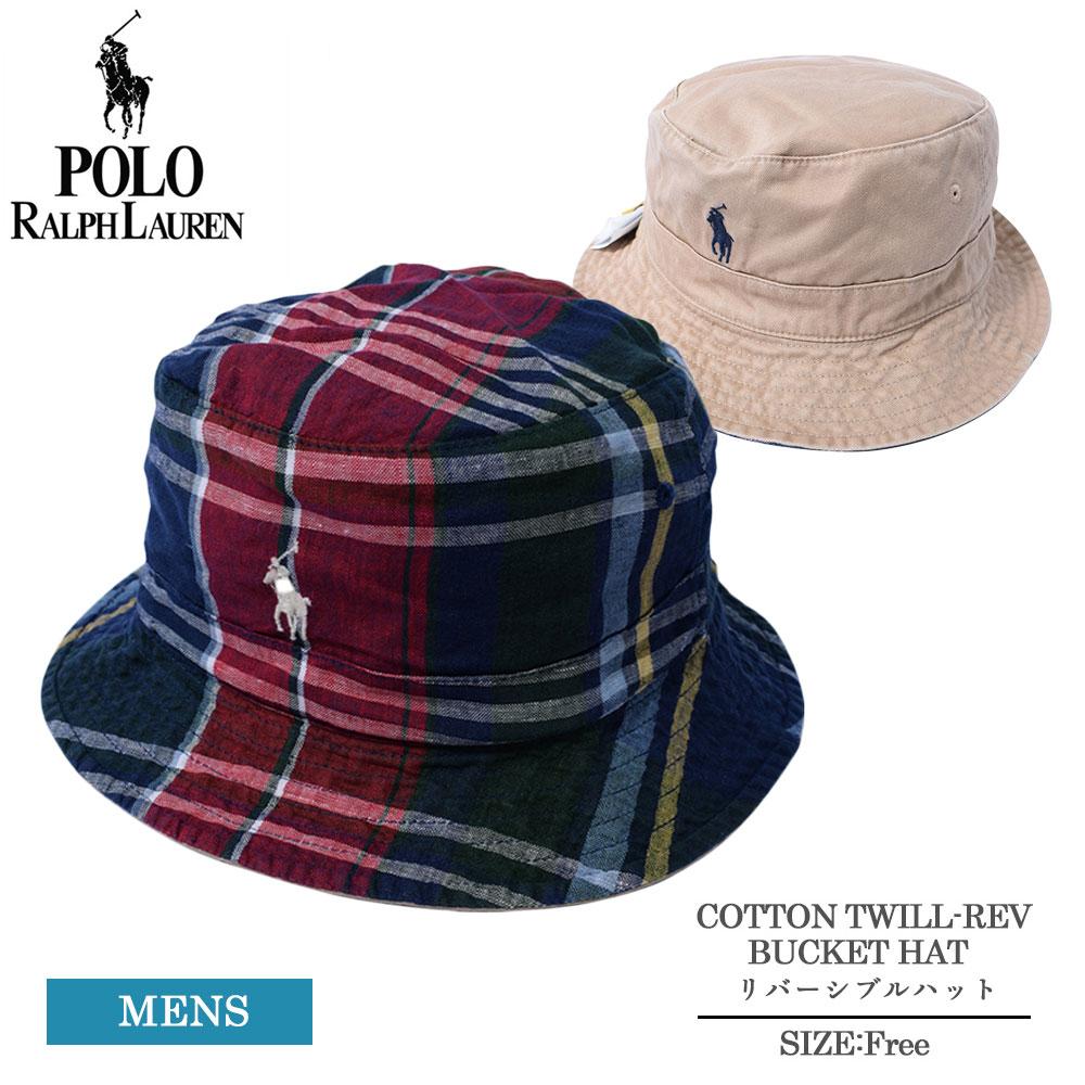 プレゼント 贈り物 ギフト 数量限定 ブランド Polo Ralph Lauren ポロ ラルフ ローレン 710833778 COTTON HAT 帽子 ハット バケットハット REV BUCKET MULTI ロゴ TWILL メンズ リバーシブル 数量限定アウトレット最安価格