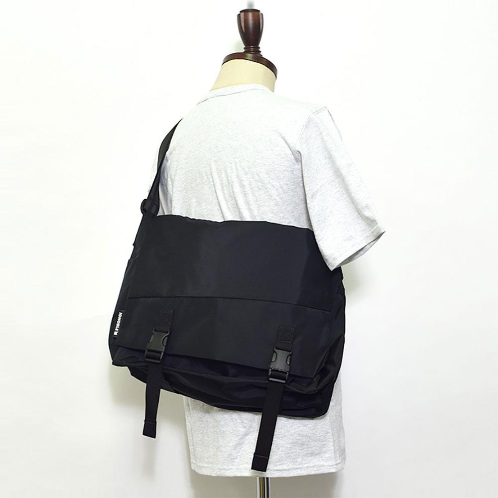 IGNOBLEイグノーブル【11008】Laurel Classic MessengerBlackメンズ 鞄 ショルダーバッグ メッセンジャーバッグ