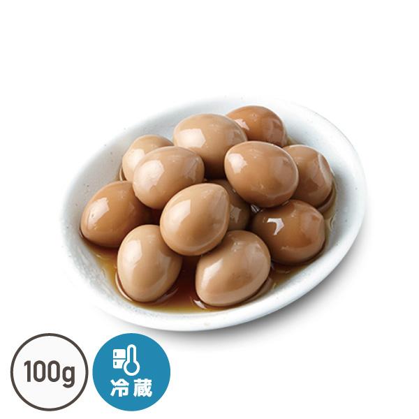 うずらの卵醤油漬け(100g)【でりかおんどる】