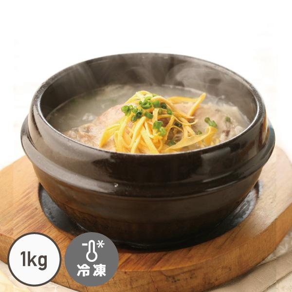 大人気!手作りサムゲタン!(参鶏湯)濃厚なのにとてもさっぱりしてるスープがたまりません! 自家製サムゲタン◆参鶏湯◆(1kg/半身)【でりかおんどる】