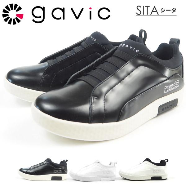 GAViC LIFE STYLE ガビック レザースニーカー LEATHER SNEAKER SITA シータ GVC007 GVC-007 メンズ レディース 革靴 本革 ローカット ゴム紐 スケーター ストリート