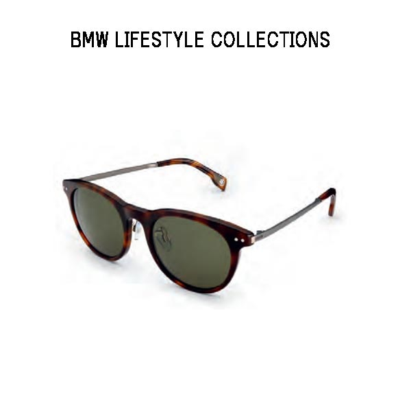 BMW LIFESTYLE COLLECTIONS 男女兼用 正規純正品 代引き不可 べっこう柄 ハバナ 80252454627 サングラス 直営店