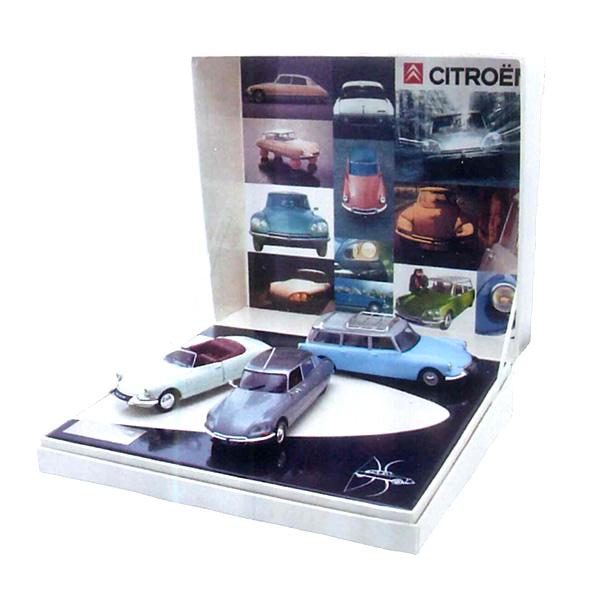 CITROEN(シトロエン)ギフトコレクション Miniature Car 1/43 50ans シトロエン DS 3台セット AMC008