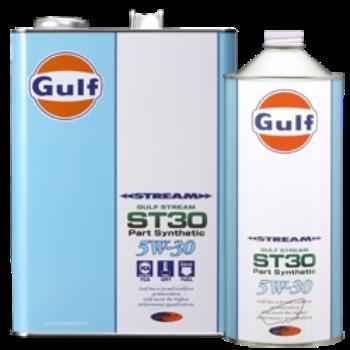 Gulf(ガルフ)エンジンオイル ガルフ ストリーム ST30 5W-30 (4L×6缶セット)