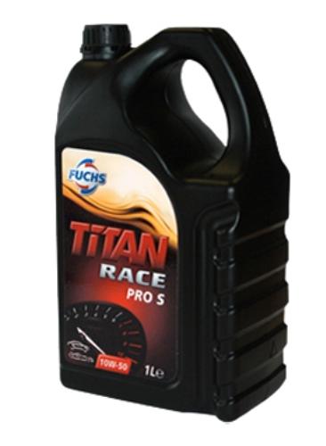【100%化学合成油】エンジンオイル FUCHS(フックス) TITAN(タイタン)RACE PRO S 10W-50 5L A600738