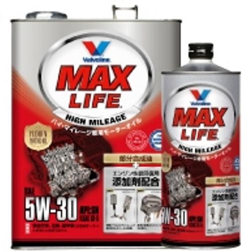 おすすめ 多走行の車におすすめです 1L×12缶セット バルボリン MAX 注目ブランド GF-5 SN 5W-30 LIFE