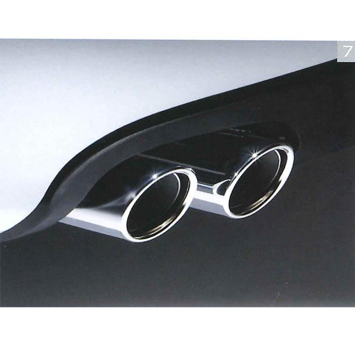 Audi純正 アウディ A4純正 スポーツテールパイプフィニッシャー 8K0071762 A4 A5