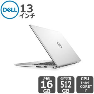 Dell プラチナ ハイエンド i7 16GB 512SSD 13.3インチFHD Inspiron-13-7380 ノートパソコン[新品]