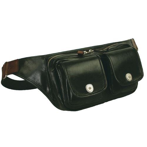 ウエストバッグ ウエストポーチ メンズ レディース 軽量な牛革を使用したバッグ【送料無料】crossroad UG 505070