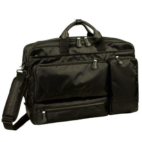 軽快感のあるポリエステル生地を使用した機能満載なビジネスバッグ!メンズバッグ ビジネスバッグ 出張【送料無料】Ryu's One AD 102501