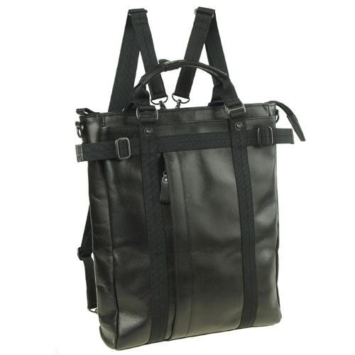 機能満載なショルダーバッグ!メンズバッグ、ハンドル持ち、リュック、ショルダーバッグ、牛革、【送料無料】crossroad BOH 505010
