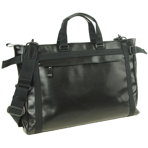 機能満載なショルダーバッグ!メンズバッグ、ハンドル持ち、ショルダーバッグ、牛革、【送料無料】crossroad BOH 505011