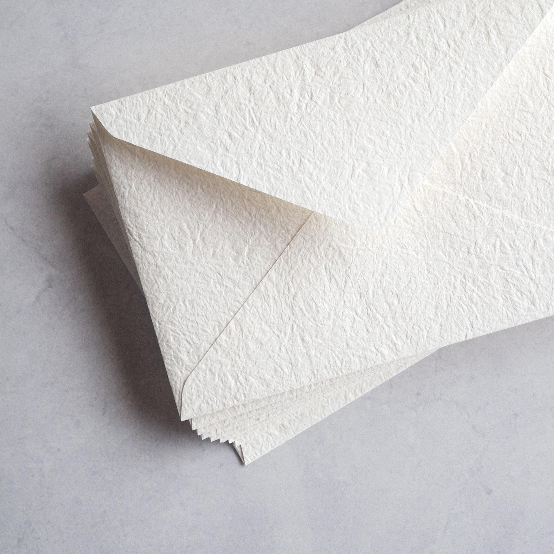 結婚式の招待状で使用される 洋1サイズ 限定特価 の高級封筒 招待状用封筒 10枚入り - col.Japone 感謝価格