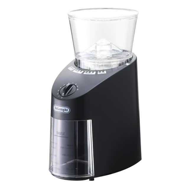デロンギ コーン式 コーヒーグラインダー [KG364J]   delonghi 公式 コーヒー グラインダー コーヒー器具 コーヒーミル ミル おしゃれ 電動 電動ミル 電動コーヒーミル グッズ おうちカフェ エスプレッソ モカ ドリップコーヒー おすすめ コンパクト 低速 引越し祝い