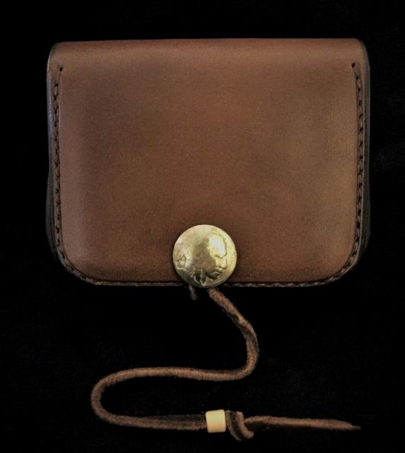 ゴローズ  goro's 未使用品  角型小銭入れ 焦茶 財布