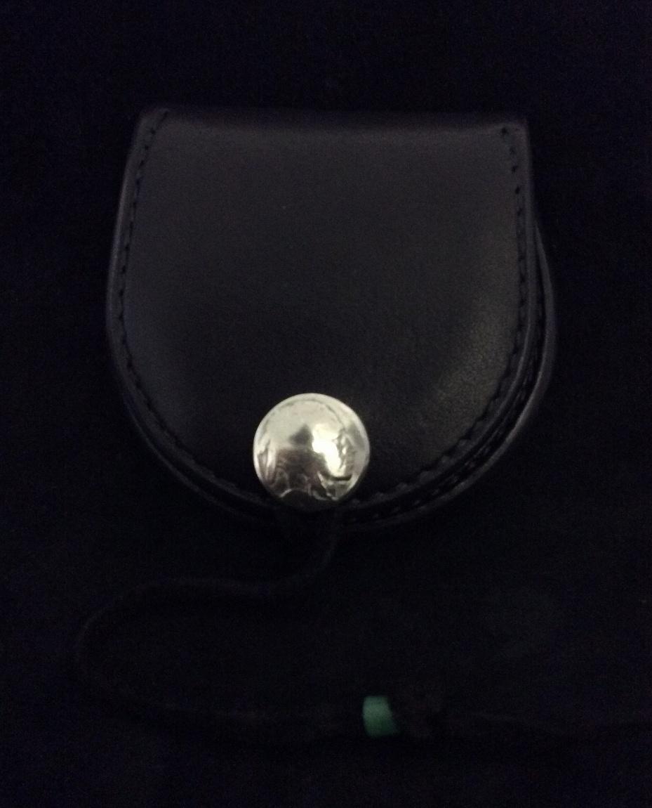 ゴローズ goro's 未使用品 黒 評価 丸型小銭入れ 大放出セール 財布
