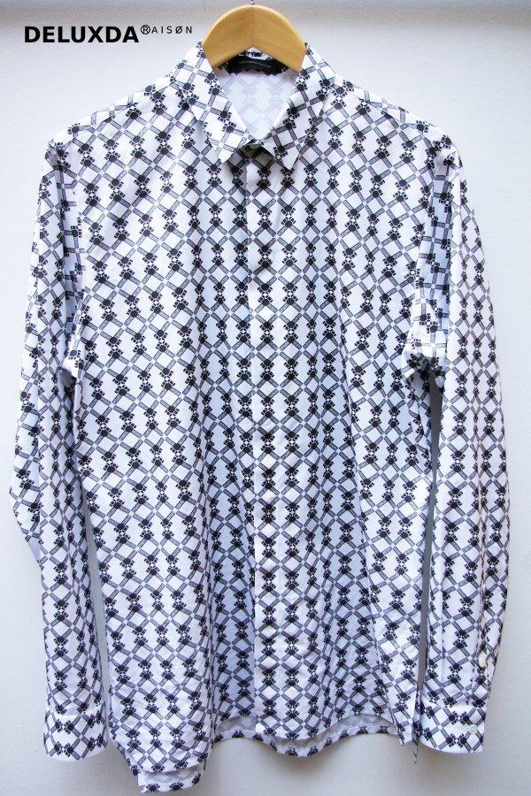KRIS VAN ASSCHE クリス ヴァン アッシュ 2012/13 AW ボルトプリントシャツ
