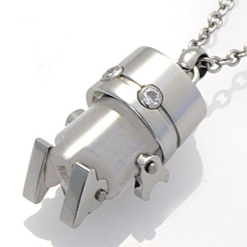 ネックレス ステンレス アクセサリー ロボット ネックレス PIP6101-SH PLUG IN