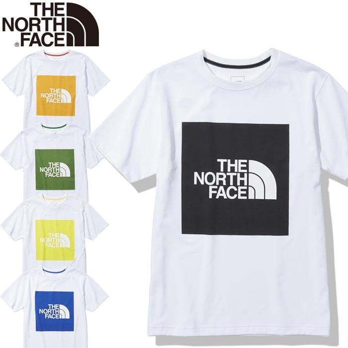THE NORTH FACEショートスリーブカラードスクエアロゴティー NT32135