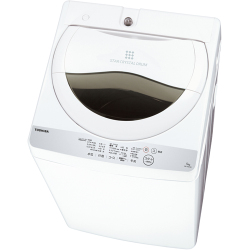 TOSHIBA 東芝【AW-5G6-W】AW5G6-W 5.0kg 全自動 洗濯機 グランホワイト【KK9N0D18P】