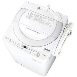 SHARP シャープ【ES-GE7B-W】ESGE7B-W 7.0kg 全自動洗濯機 ホワイト系 穴なし槽 【KK9N0D18P】