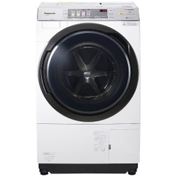 Panasonic パナソニック【NA-VX3800L-W】NAVX3800L-W左開き ドラム式 洗濯乾燥機 (洗濯10.0kg/乾燥6.0kg)「VXシリーズ」 NA-VX3800L-W クリスタルホワイト 【洗濯槽自動お掃除・ヒートポンプ乾燥機能付】洗濯機 【KK9N0D18P】