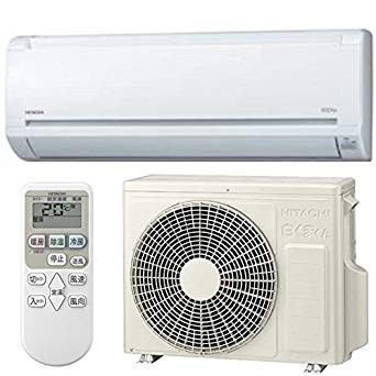 日立 HITACHI 【RAS-A22F-W】RASA22F-W エアコン 白くまくん Aシリーズ スターホワイト2.2kW [おもに6畳用 /100V]【KK9N0D18P】