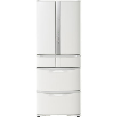 HITACHI 日立【R-F51M2-W】RF51M2-W 冷蔵庫(505L・フレンチドア) 6ドア パール ホワイト【KK9N0D18P】