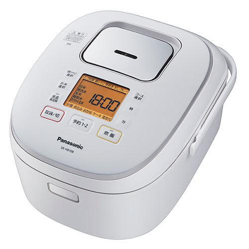 Panasonic パナソニック【SR-HB108-W】SRHB108-W IHジャー炊飯器(5.5合炊き) ホワイト 【KK9N0D18P】