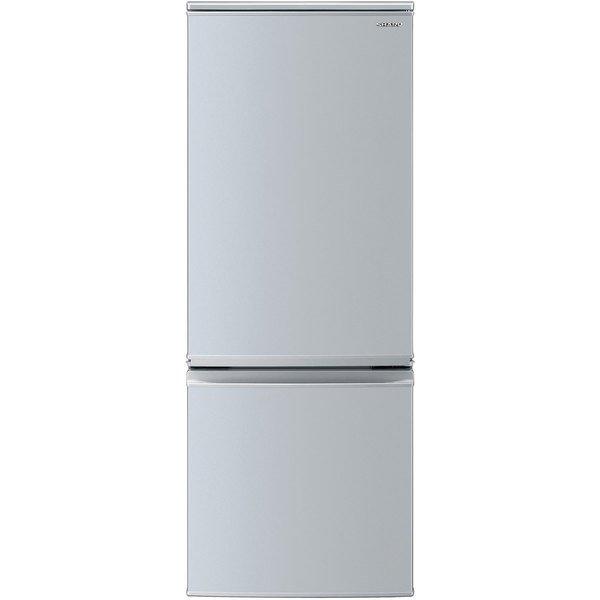 SHARP シャープ【SJ-D17F-S】SJD17F-S 167L 2ドア冷蔵庫(シルバー系) つけかえどっちもドア 【KK9N0D18P】