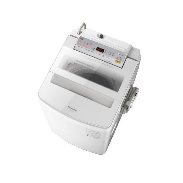 パナソニック 全自動洗濯機 10.0kg パワフル滝洗い NA-FA100H6-W ホワイト