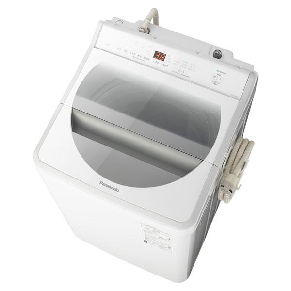 ■オプションで設置取付 / リサイクル(廃棄処分)も承っております♪ パナソニック 全自動洗濯機 9.0kg 泡洗浄 パワフル立体水流搭載 NA-FA90H7-W ホワイト