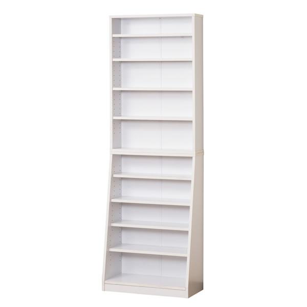 クロシオ SOHO書棚 W60 組立式 31131 ホワイト