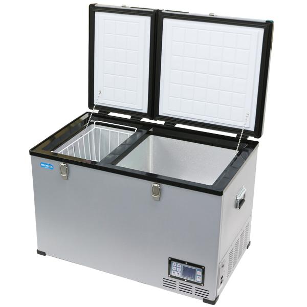 レマコム 車載用 冷凍冷蔵ストッカー 業務用 100L 車用 冷凍冷蔵庫 RPT-100RFD