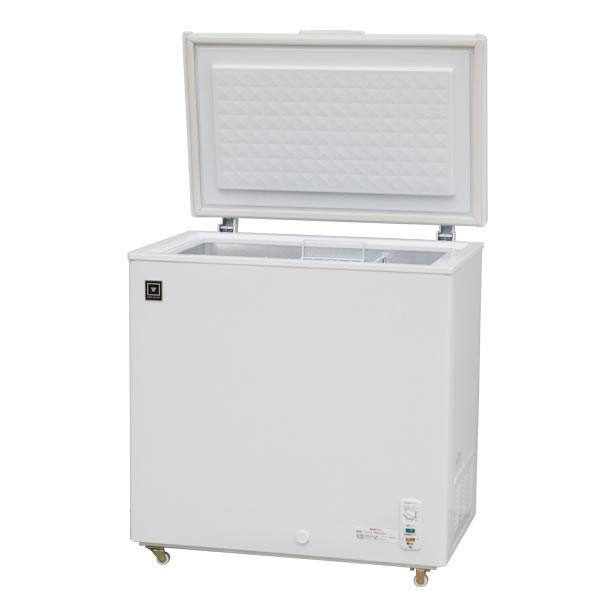 レマコム 三温度帯 冷凍ストッカー 冷凍・チルド・冷蔵調整機能付 176L ノンフロン 急速冷凍機能付 RRS-176NF
