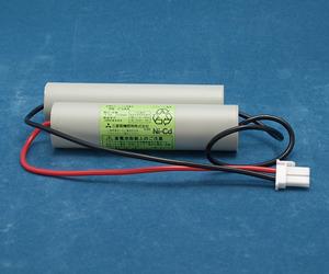【長納期:次回入荷2019年4月予定】4N23AA 三菱電機製(4N-23AA) 4.8V2300mAh | 誘導灯 | 非常灯 | バッテリー | 交換電池 | 防災