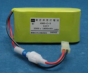 4NR-C-S(4NR-C-SB) | 東芝 | 誘導灯 | 非常灯 | バッテリー | 交換電池 | 防災