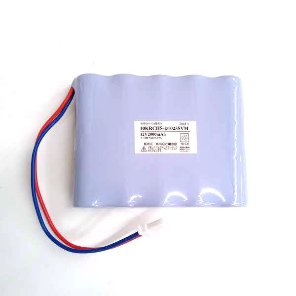 10KR-CH相当品(同等品) コネクタ付 1H2V型 ※電池屋製 12V2000mAh