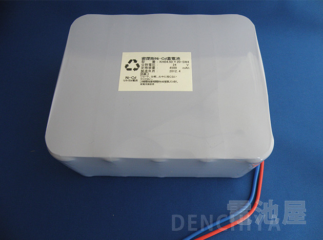 24V4500mAh エレベーター自動着床装置用バッテリー(20N4500DS-TT相当品)
