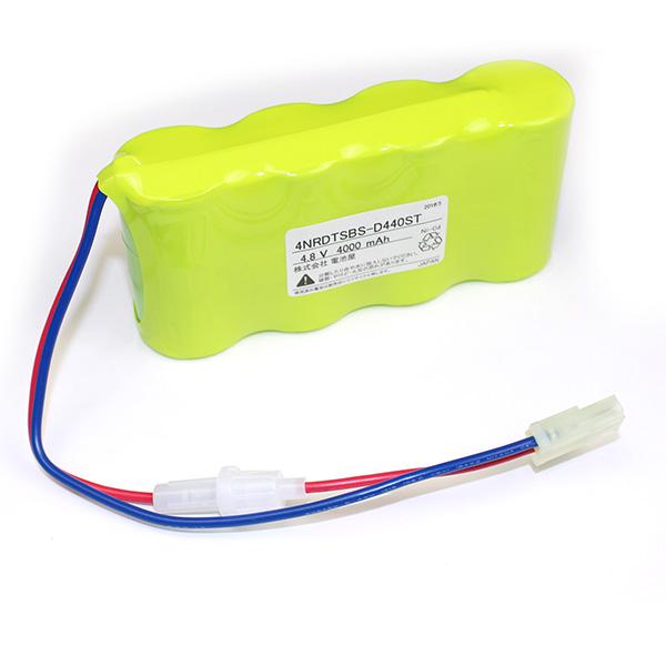 【4月おすすめ】4NR-DT-SB相当品(同等品) | 誘導灯 | 非常灯 | バッテリー | 交換電池 | 防災<年度シール付き>