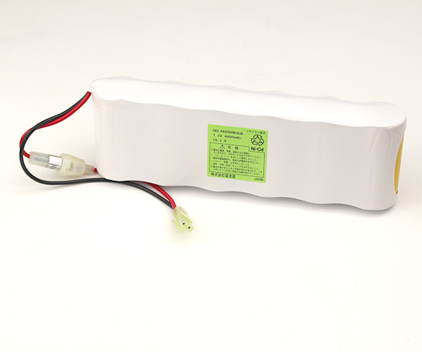 6KR-4400DA 相当品(同等品) コネクタ付 SANYO製相当品 ※組電池製作バッテリー JFEアドバンテック KH型クレーンスケール用