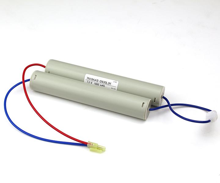 7N19AA相当品(同等品)7.2V1800mAh | 誘導灯 | 非常灯 | バッテリー | 交換電池 | 防災<年度シール付き>【4月おすすめ】