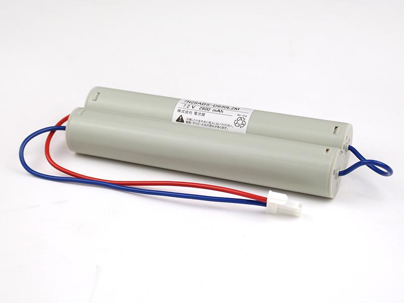 7N28AB相当品(同等品) 7.2V2800mAh | 誘導灯 | 非常灯 | バッテリー | 交換電池 | 防災