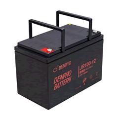 JR100-12 電菱 密閉型鉛蓄電池 12V100Ah(10時間率) <JRシリーズ>【T5端子(位置:P4)】 DENRYO BATTERY【キャンセル返品不可】【電池屋の日対象】