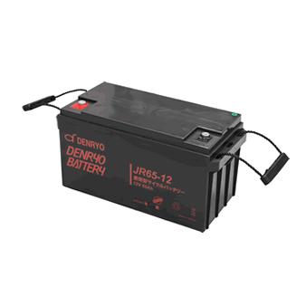 JR65-12 電菱 密閉型鉛蓄電池 12V65Ah(20時間率) <JRシリーズ>【T5端子(位置:P4)】 DENRYO BATTERY【キャンセル返品不可】