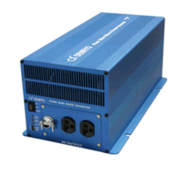 SK2000-148 電菱(DENRYO) 正弦波インバータSKシリーズ 48V 定格出力:2000W 高サージ 絶縁設計 DC-AC