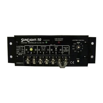 SL-10L-24V 電菱 太陽電池充放電コントローラ (PWM充電方式) <SunLightシリーズ>【電池屋の日対象】