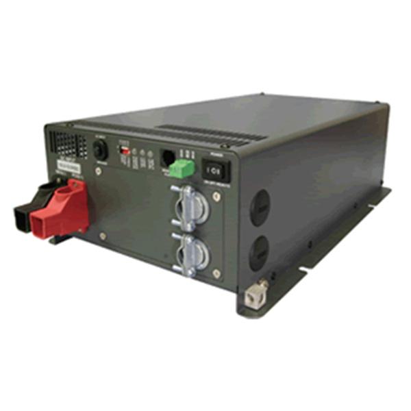ST1500-148 電菱(DENRYO) 正弦波インバータSTシリーズ 48V 定格出力:1500W 商用自動切換リレー内蔵 充実の保護回路 DC-AC
