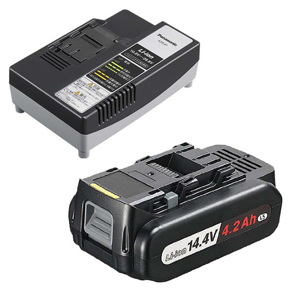 EZ9L45ST パナソニック 14.4V/4.2Ah電池パック EZ9L45と急速充電器 EZ0L81のセット